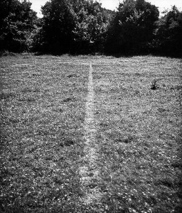 a676b7dba Richard Long s  A Line Made By Walking